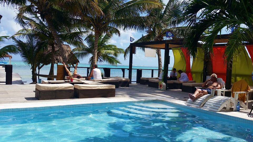 Ocean Tide Beach Belize